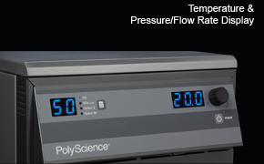 Temperature & Pressure/Flow Rate Display